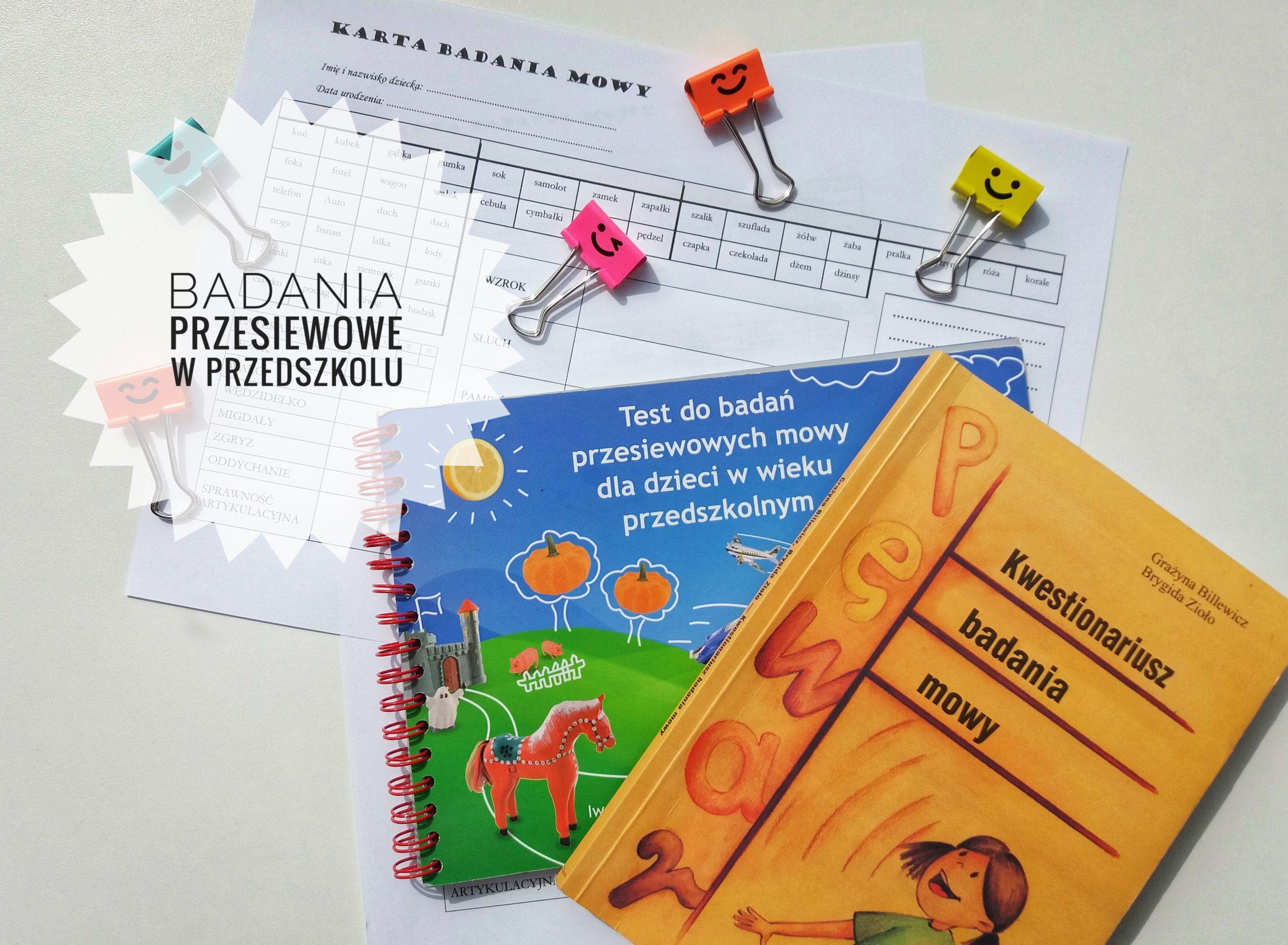 Badania przesiewowe w przedszkolu